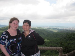 Shannon and I overlooking Kutaisi