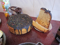 Paska, a sweet bread for Easter