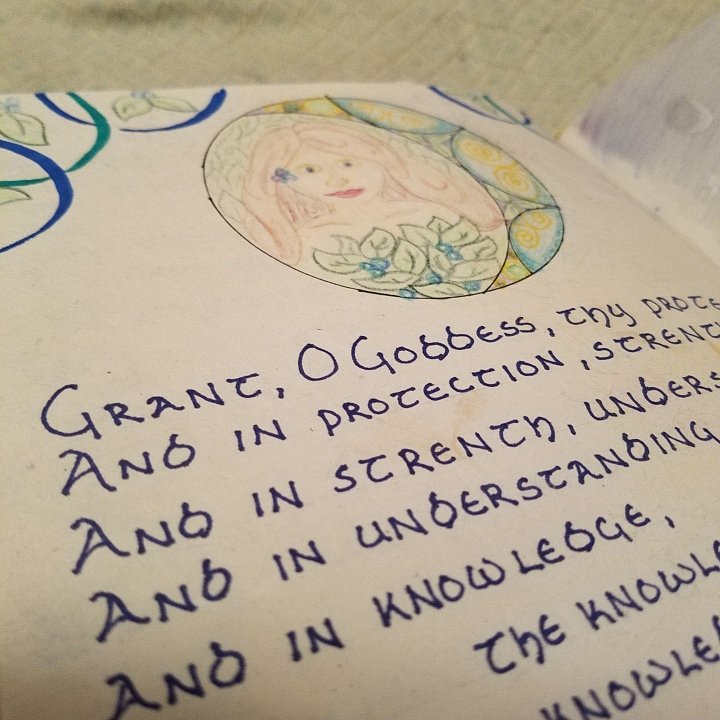 Revisiting My Book of Awen